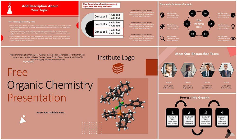 Free Organic Chemistry Goc Powerpoint Template Organic