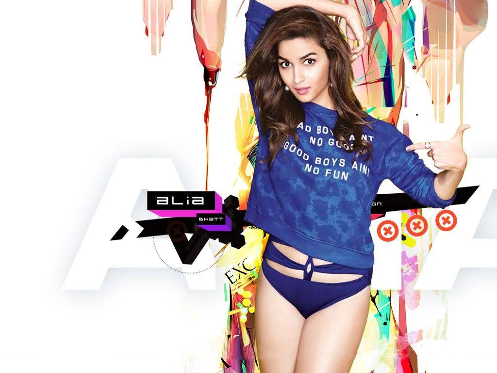 2019 Hd Wallpaper Bollywood Actress In Bikini: Alia Bhatt Latest Hot Bikini Wallpapers (5)