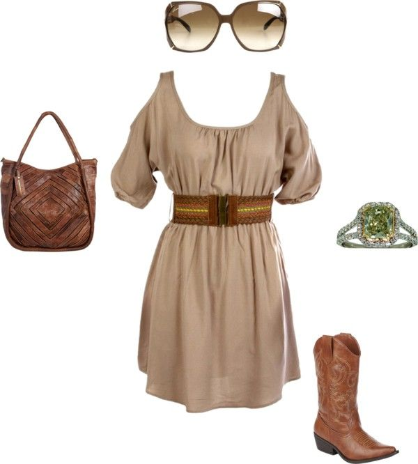 """""""Cowgirl"""" by janeamcdonald on Polyvore"""