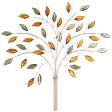 Autumn Leaves Metal Wall Decor found at @JCPenney | art | Pinterest