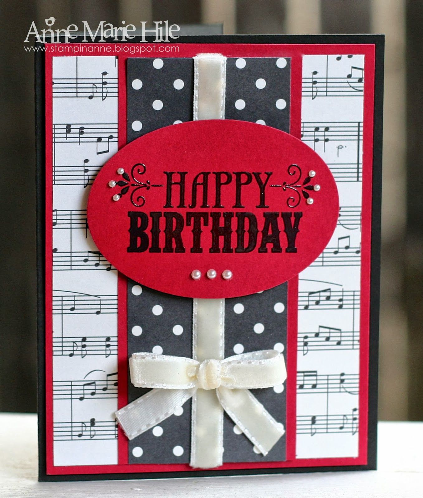 Stampin Anne Tic Tac Toe Birthday For Paper Players 165 Karten