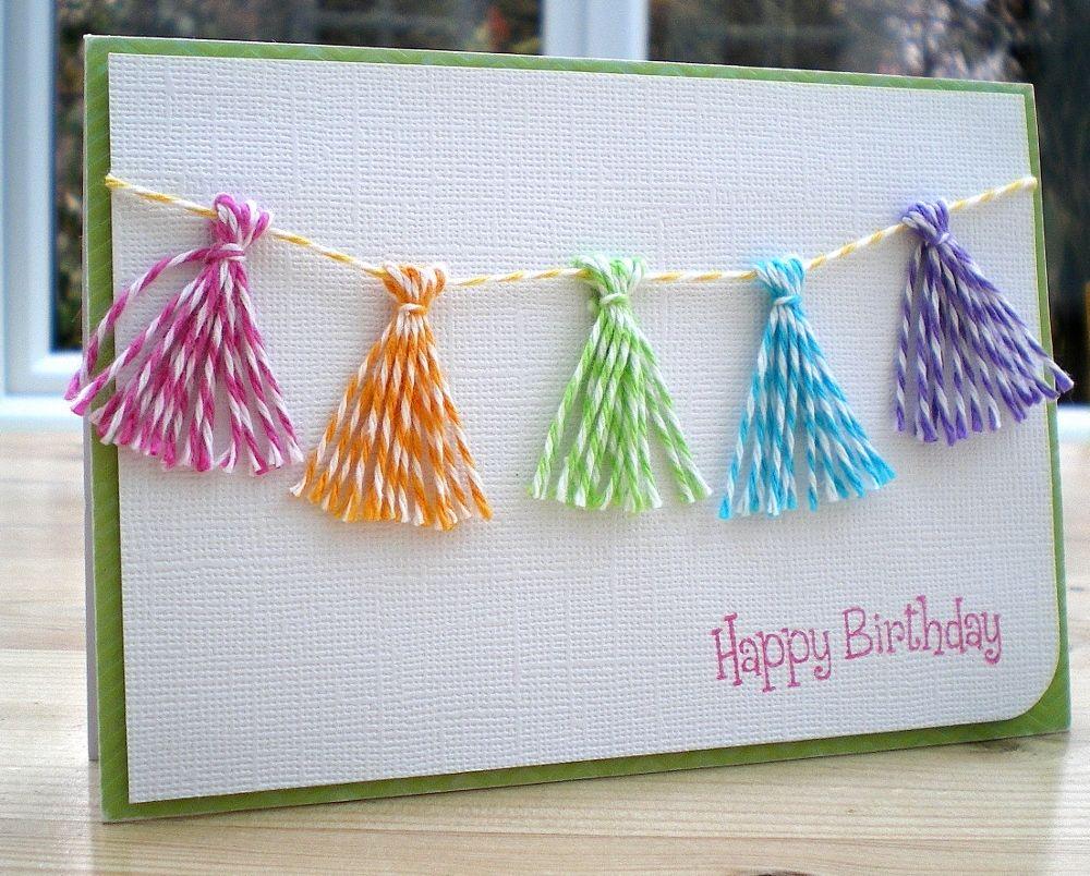 Product Pick Tassel Maker Handmade Birthday Cards Homemade Birthday Cards Kids Birthday Cards