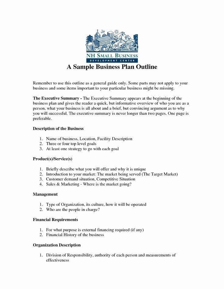 Business Plan Template Pdf Best Of 25 Best Ideas About