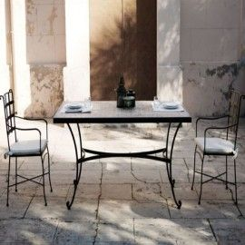 Muebles De Forja Para Jardin Y Terraza Coleccion Genova Muebles - Muebles-de-forja-para-jardin
