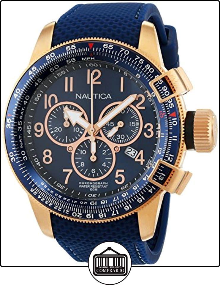 12dba4682b37 Nautica NAI28500G - Reloj de pulsera Hombre