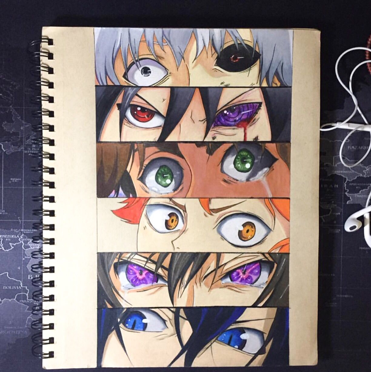 Can you guess which anime characters these eyes belong to