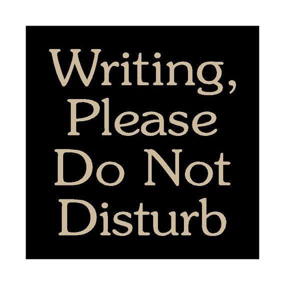 Do Not Disturb segno-WORK IN PROGRESS # 20