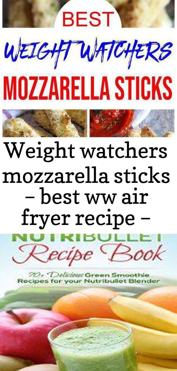 Photo of Weight Watchers Mozzarella-Sticks – das beste Rezept für eine WW-Fritteuse …