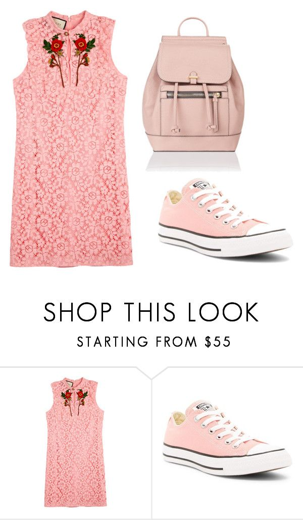 """""""2"""" by mehemed-1 ❤ liked on Polyvore featuring Gucci, Converse and Accessorize"""