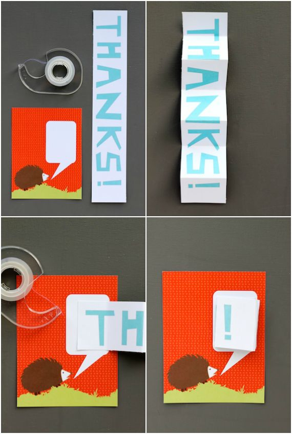 DIY: Pop-Up Thank-You Card Printable | Thank you cards ...