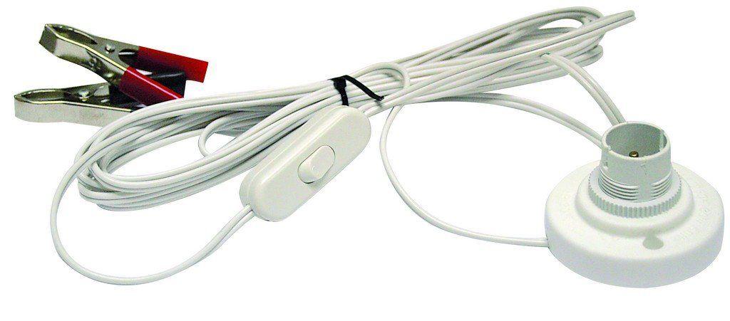 Battery Light Kit 12v Lamp Holder With Switch In 2020 Battery Lights Lamp Holder Battery Clamp