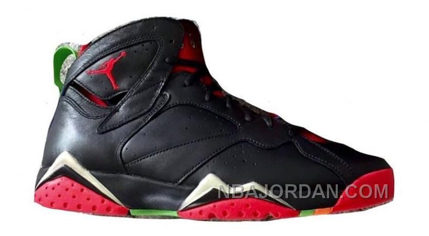 Jordan Men's Green Pulse University Red Cool Grey Retro 7 Sneakers black In 2016 In More Styles