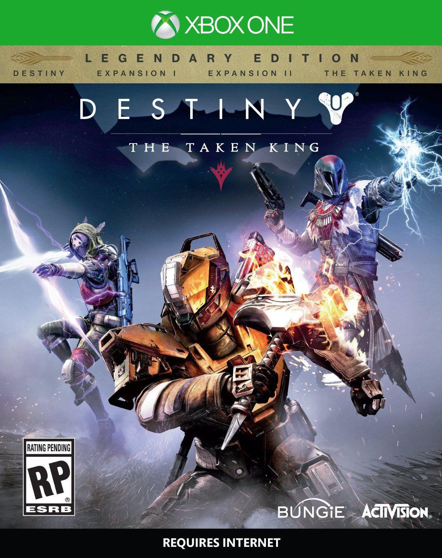 Destiny The Taken King Xbox One Video