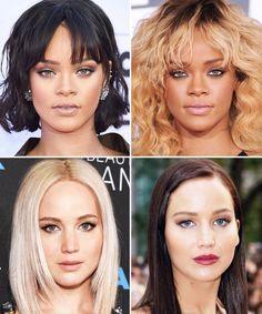 Blonde Vs Brunette These Stars Prove Hair Color Can Change Everything Blonde Vs Brunette Hair Color Pictures Blonde Hair For Brunettes