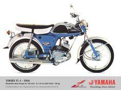1968 YAMAHA Grand Prix Scrambler 350 Motorcycle VINTAGE AD