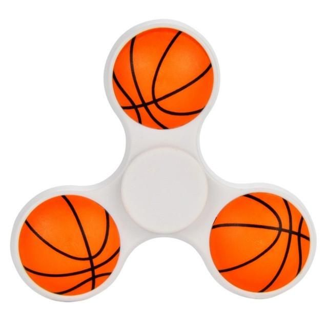 Basketball Soccer Fid Spinners Soccer Black