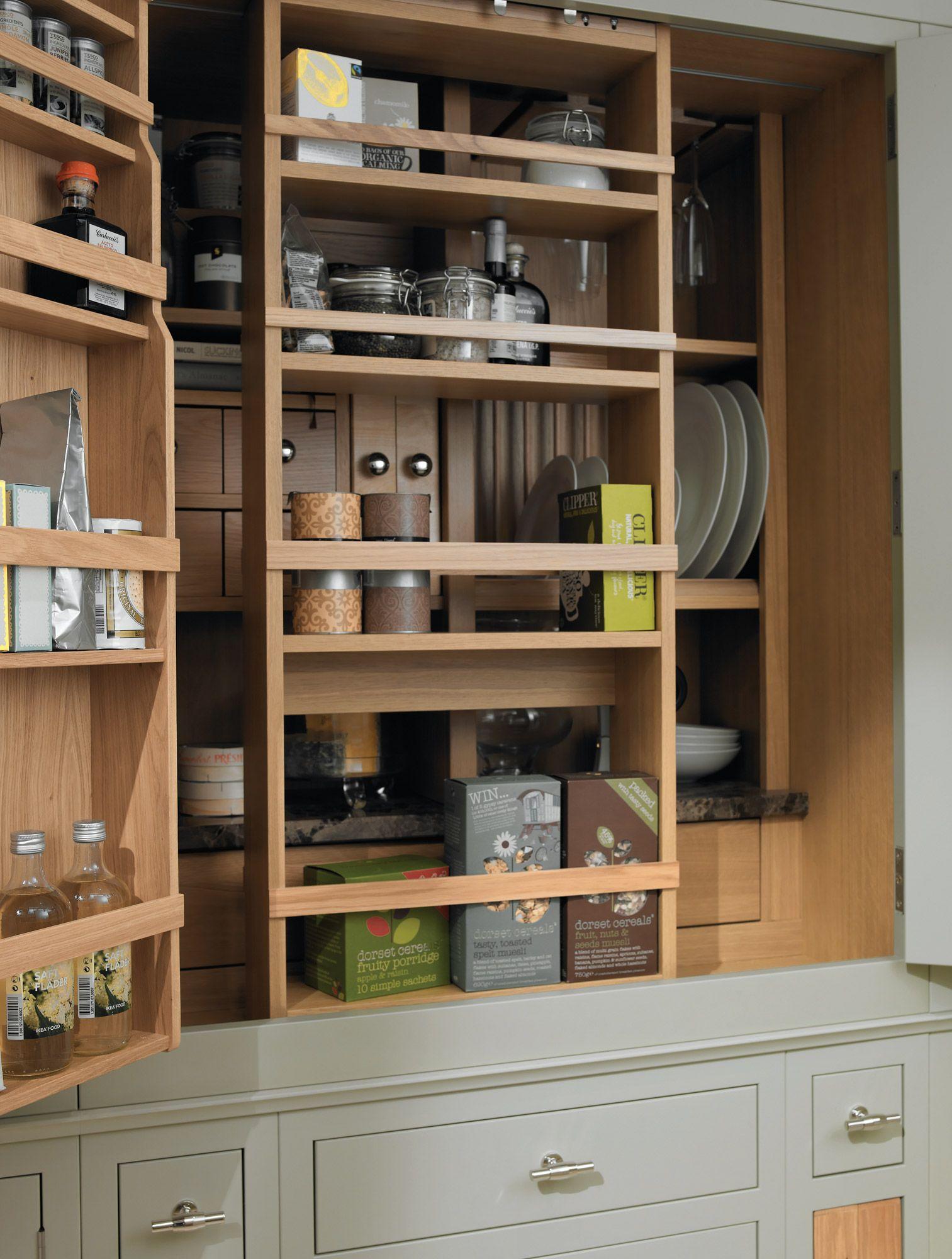 Elegant Shaker Pantry Cabinet