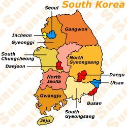 South Korea Districts Learn the Language Korean