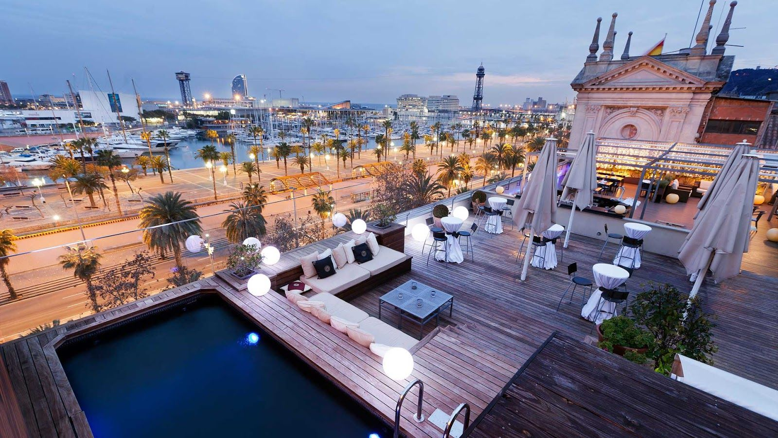 Top 10 Rooftop Terraces In Barcelona Barcelona Hotels Best Rooftop Bars Hotel Rooftop Bar