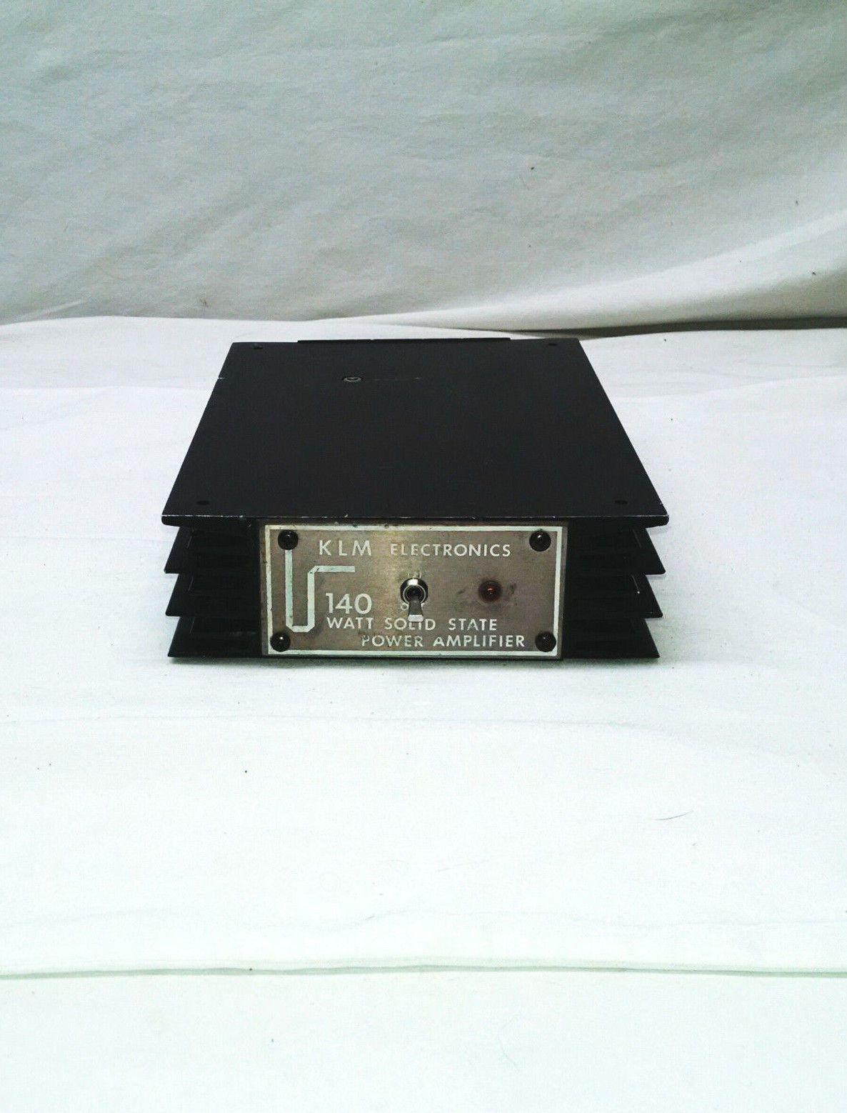 Vintage KLM 10 140B Ham Radio Power Amplifier 2 Meter 140 Watt