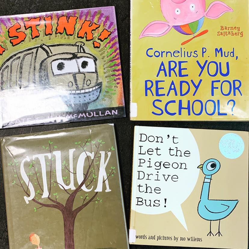 In honor of back to school here are read aloud ideas from