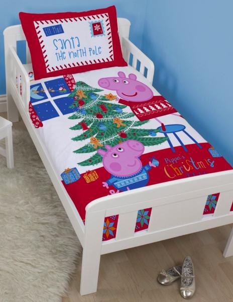 Minions Peppa Pig Or Paw Patrol Christmas Junior Duvet Sets From