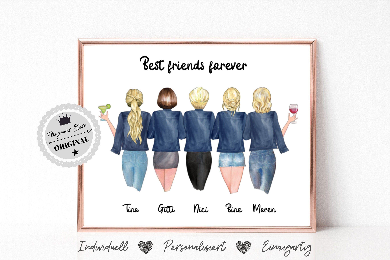 Freundinnen Geschenk | Beste Freundinnen | Freundinnen