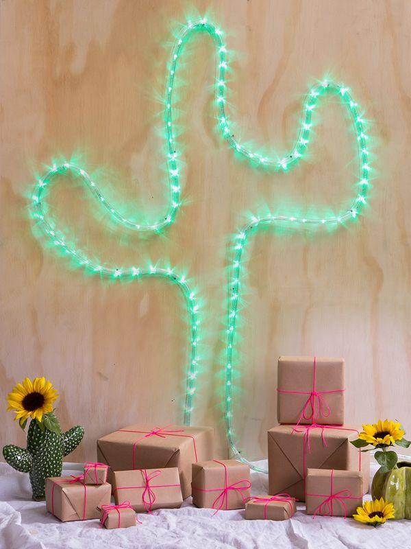 Alternative to a christmas tree- a christmas cactus!