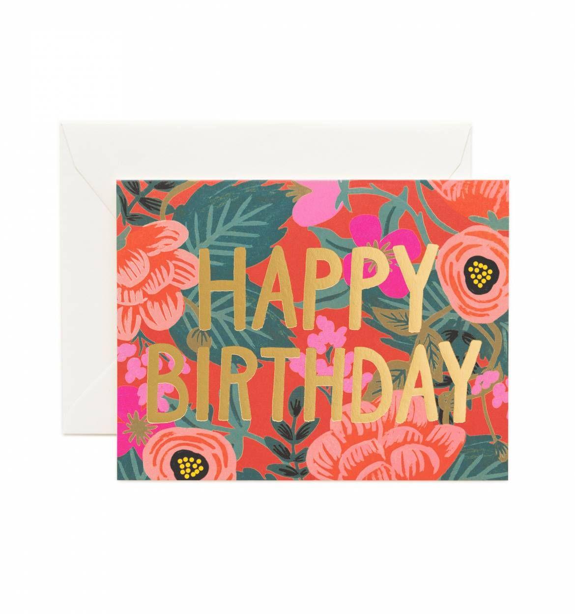 Poppy Birthday – Birthday Cards Printed