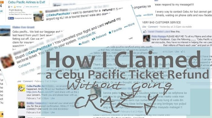 How I Claimed a Cebu Pacific Ticket Refund Without Going Crazy The - new sample letter to refund tickets