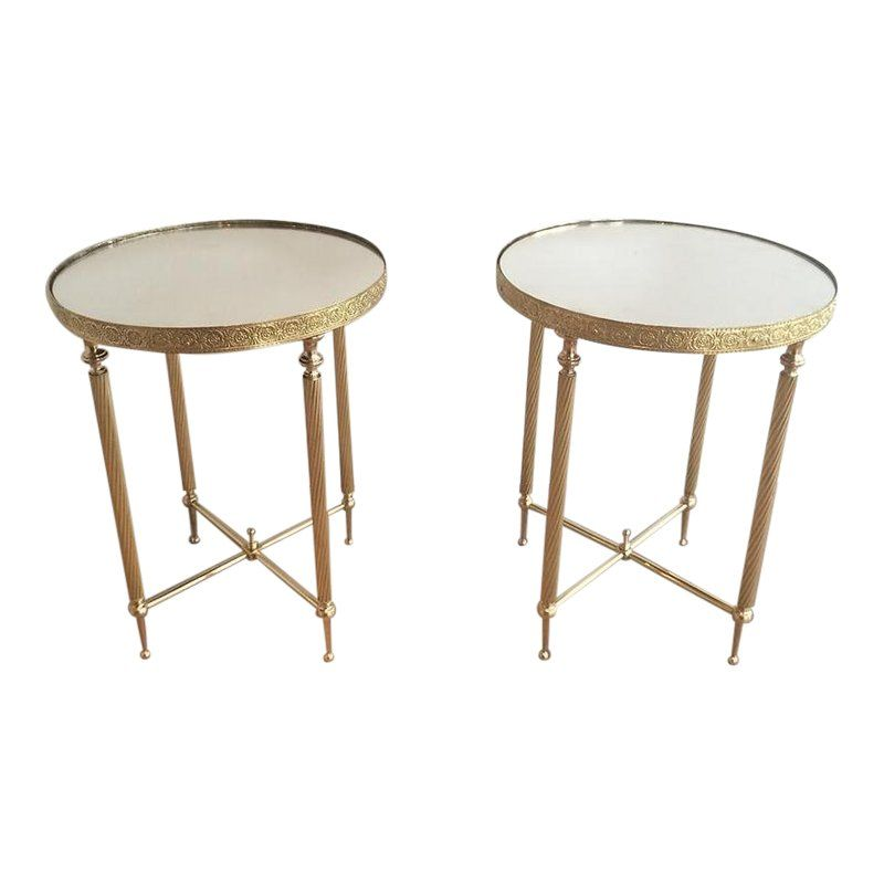Hollywood Regency End Tables Pair In 2019 Products Table