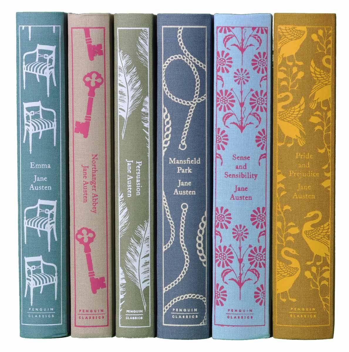 Decorative Jane Austen Books From Penguin Juniper Books Jane Austen Books Jane Austen Book Worms