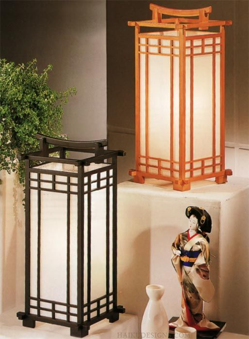 the rice paper teahouse lamp from haiku designs casts a wonderful