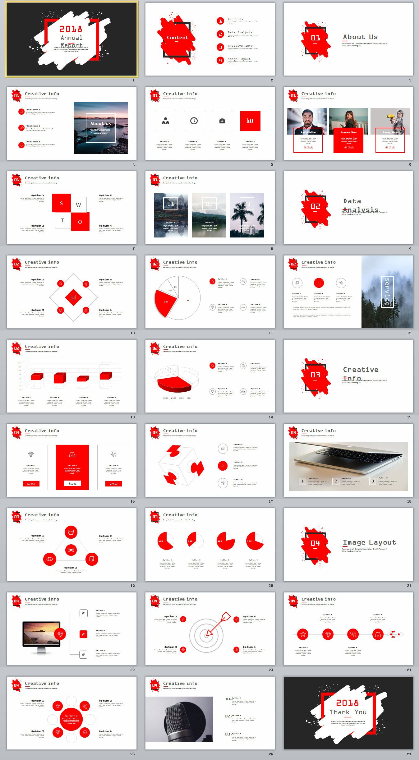 27 best year report red charts powerpoint template on behance 27 best year report red charts powerpoint template on behance powerpoint templates toneelgroepblik Choice Image