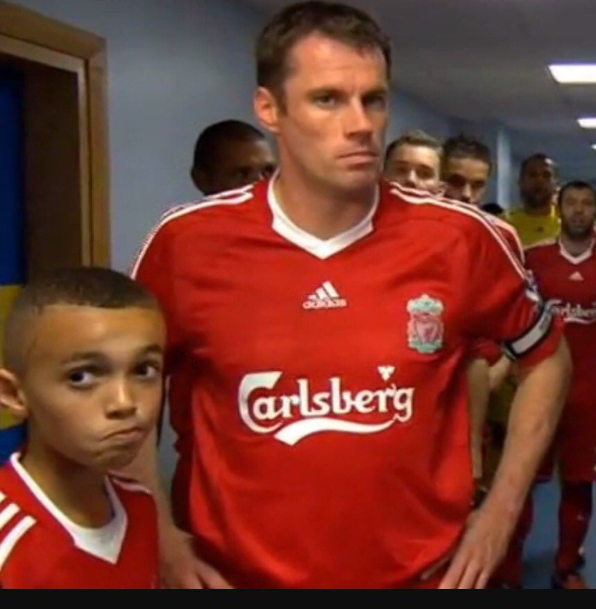 249e72569a8 Little Trent Alexander-Arnold and Jamie