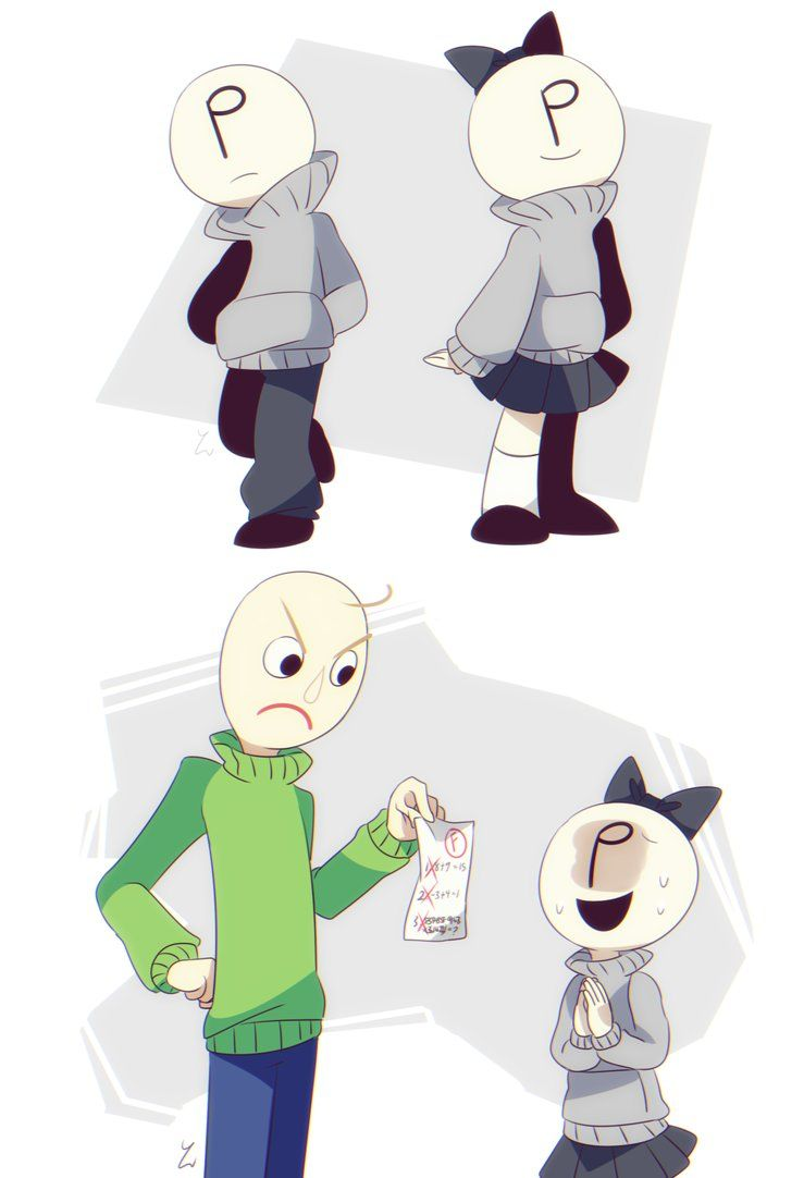 Even More Baldi S 2 By Yatsunote With Images Game Character