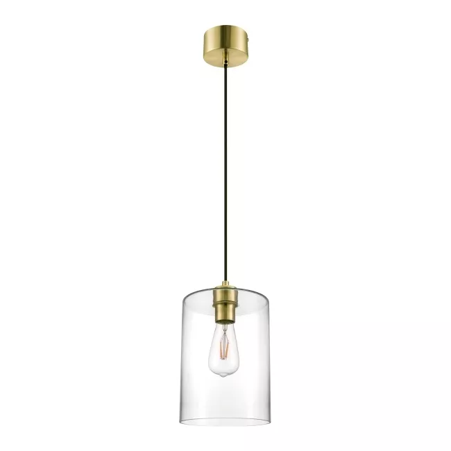 Lampa Wiszaca Goodhome Wutai 1 Punktowa E27 Mosiadz Lampy Wiszace Brass Pendant Lamp Pendant Lamp Pendant Light