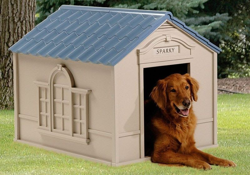 Suncast Dh250 Heated Dog House Large Dog House Cool Dog Houses