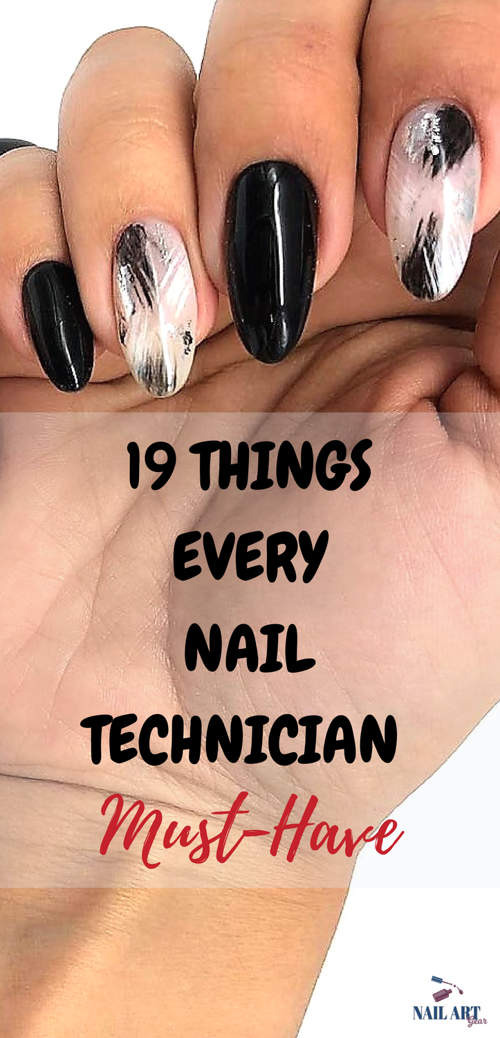 19 Must Have Nail Technician Supply List Full Guide 2020 Nail Salon Supplies Nail Art Supplies Nail Equipment
