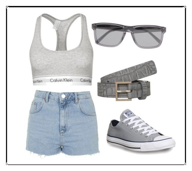 """""""Calvin Klein"""" by gracie13034 ❤ liked on Polyvore featuring Calvin Klein Underwear, Converse, Calvin Klein Collection, Topshop and Calvin Klein Jeans"""
