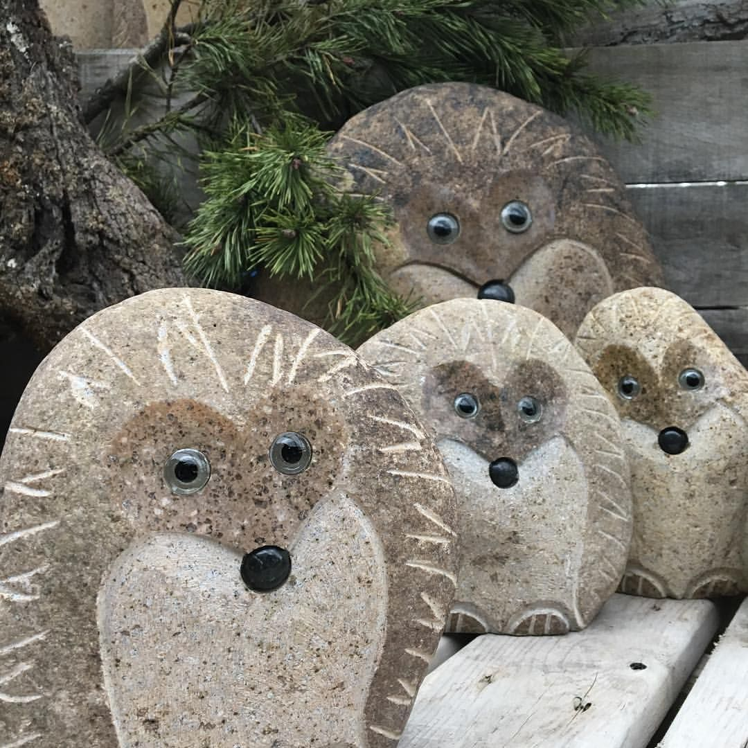 Lovely Too Cute! Garden Treasures Or Garden Statues... Maybe Chipmunks? Follow @