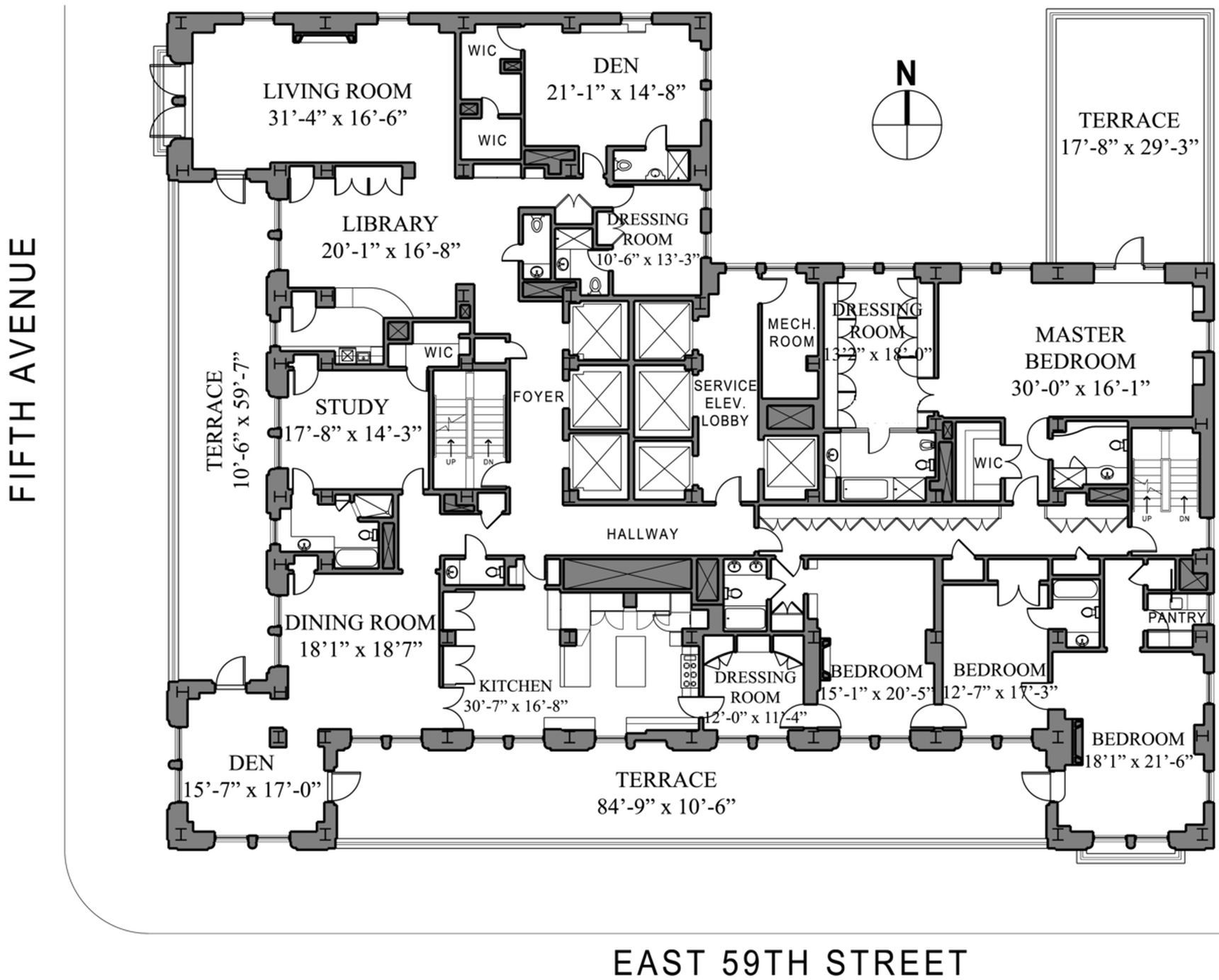 Sherry Netherland Apartment Once Asking 86m Gets Big Discount Floor Plans How To Plan Apartment Floor Plans