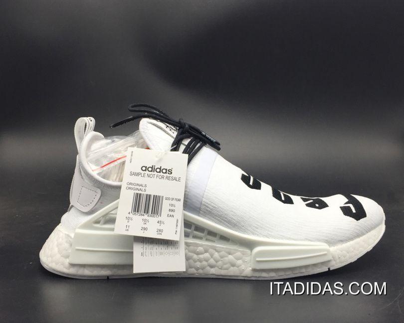 c610ab5fd 2019 的 Women Men Kendra s Customs Fear Of God X Adidas NMD White ...