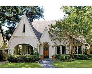 Tudor with front porch home tudor house home cute house - How to update a tudor style home exterior ...