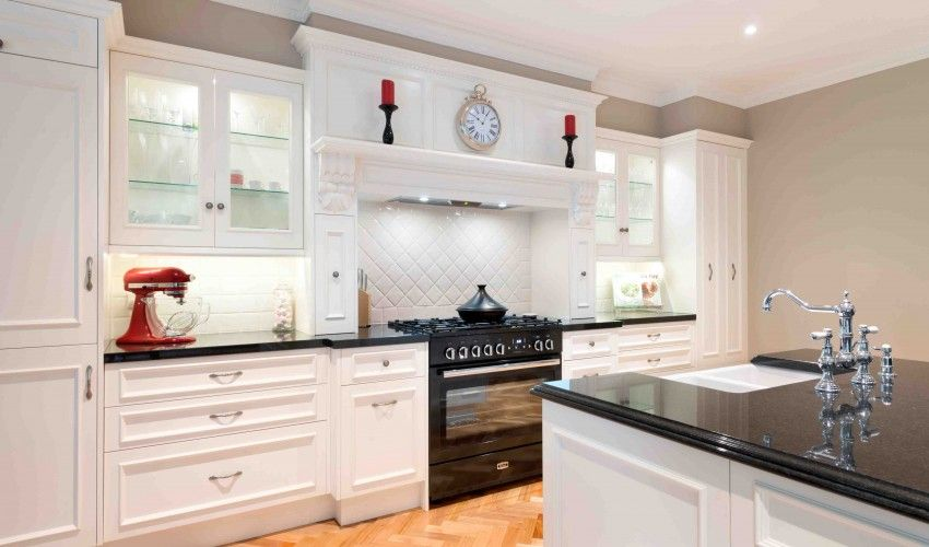 Farmers White French Provincial Kitchen - Advanced Cabinetry | home ...