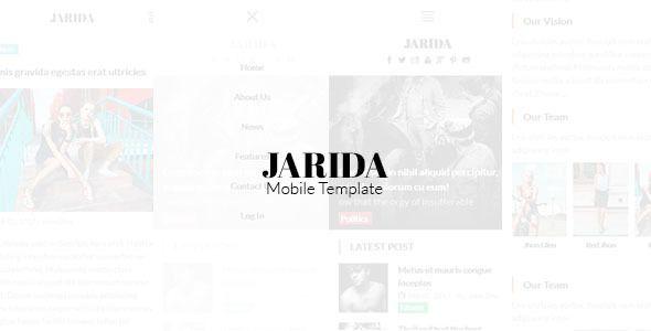 Jarida - Magazin Mobile Template #cordova #framework7