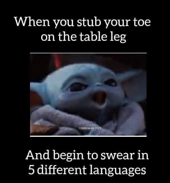 Pin By Loridurfee On Baby Yoda Yoda Meme Funny True Quotes Funny Memes