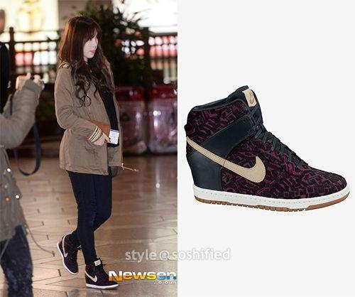 Taeyeon · Nike DunksSnsdCasual ...