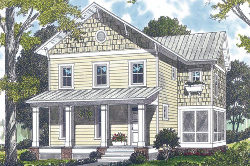 Farmhouse Style House Plan - 3 Beds 2.50 Baths 1950 Sq/Ft Plan #453 ...