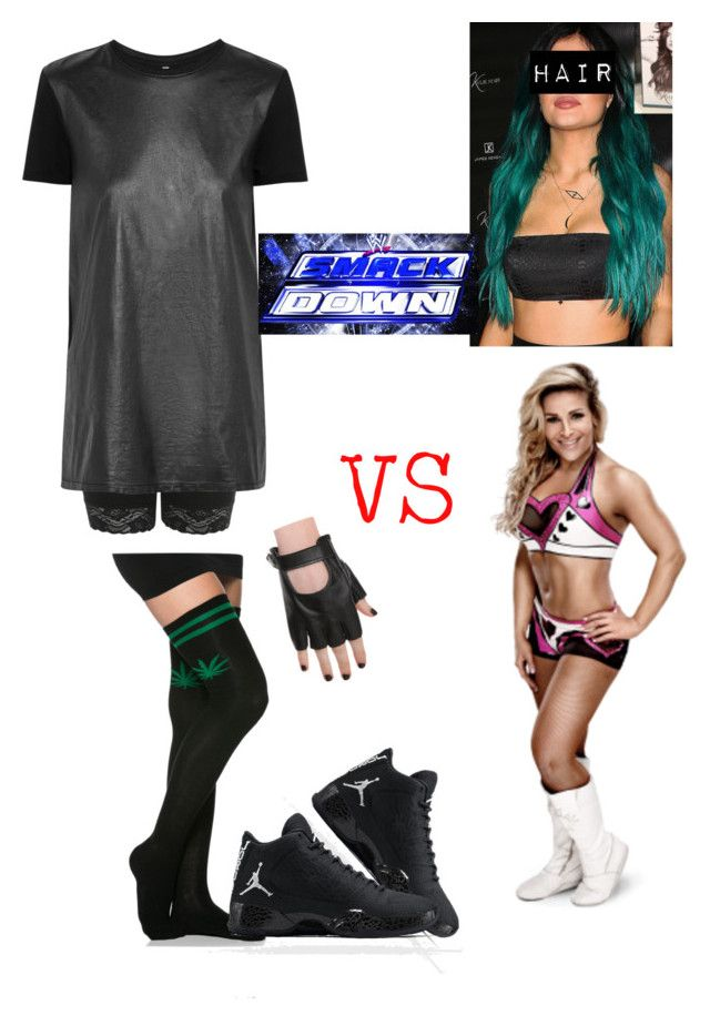 WWE: havin a match against Natalya by mariaxl on Polyvore featuring Faith Connexion and Miss Selfridge